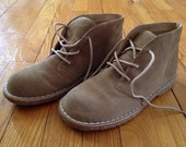 Vintage 90s Suede Desert Hiking Boot size 6.5