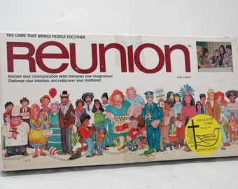 Reunion Game Christian Version 1979 COMPLETE