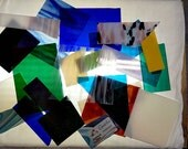 Spectrum SYSTEM 96 COE 4 LBS Bag Scrap Fusible Glass Fusing Glass Supplies