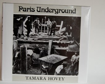 Vintage Book, Paris Underground