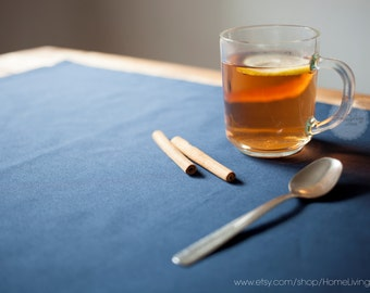 Table runners table runner cotton table runner wedding table runner navy blue table runner long table runner custom 14x64 Inches