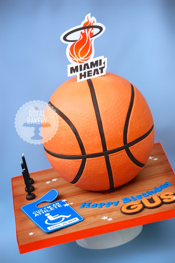 How To Make A Basketball Cake Tutorial