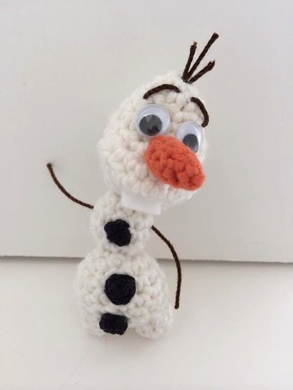 """Olaf - 3"""" inches minifigure snowman - Pattern Only (Download Instatantly)"""