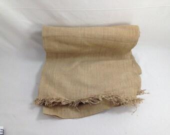 BLOWOUT SALE Antique Bakery Burlap Cloth (C4)