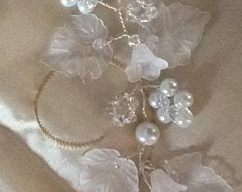 Bridal Hair Vine a Tiara Headdress