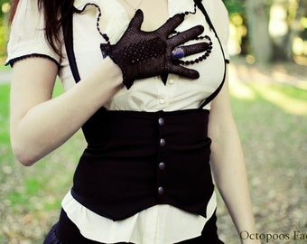 Steampunk Brown Underbust