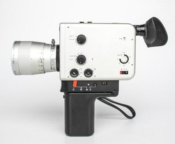 vintage super 8 camera braun nizo professional 800 p. Black Bedroom Furniture Sets. Home Design Ideas