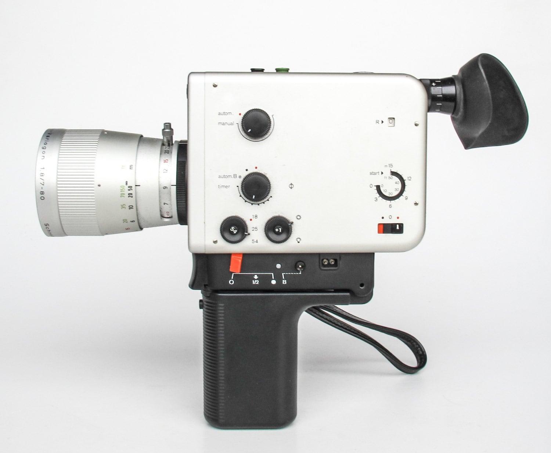 Vintage Super 8 Camera Braun Nizo Professional 800 P