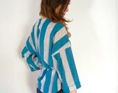 Women's Vintage Blouse - Size Medium