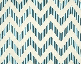 Chevy Sailor cotton fabric by the yard chevron Magnolia Home Fashions
