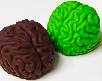 Sweets on the Mind - Brain Shaped Chocolate Truffles