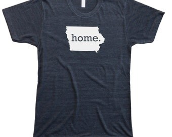 Homeland Tees Men's Iowa Home T-Shirt