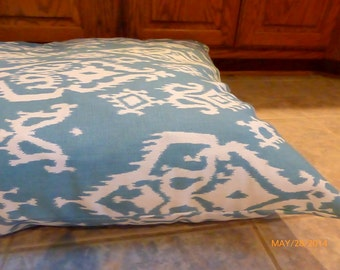 Personalized  Pet Bed cover -  Designer Ikat  Dog Bed Cover - Dog bed cover - Custom pet bed - custom dog bed