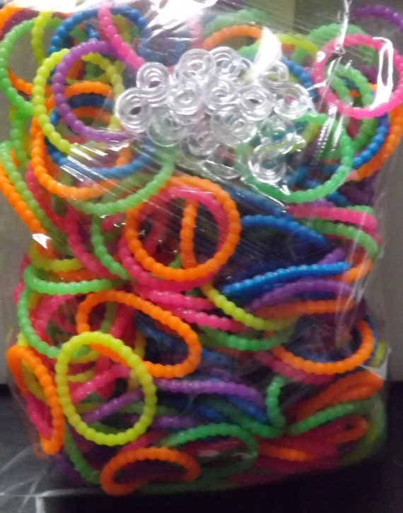 Loom Rubber Bands Silly Bead For Rainbow Loom 300 Rubberbands