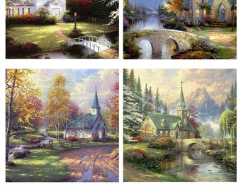 Tile Art:  ceramic tiles, custom pictures and pre-made Sets of four tiles make a coaster set.