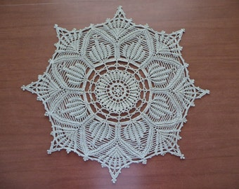 Wind Flower Doily
