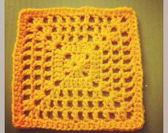 Netted Granny Square Pattern!