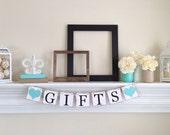 Cadeaux de décoration de réception bannière - décorations de fête - mariage - cadeaux de Table