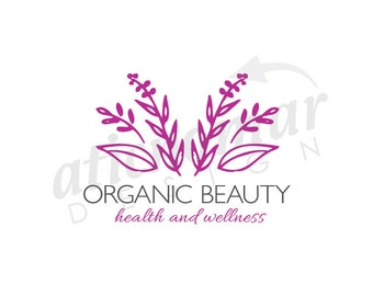 organic beauty -  Custom Premade Logo