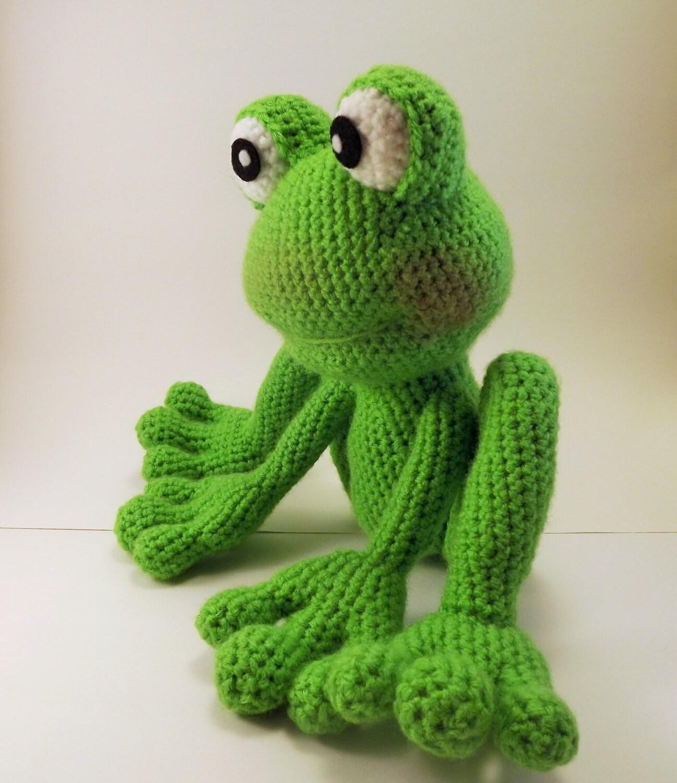 Froggy Amigurumi Pattern Frog Crochet Pattern Pdf File
