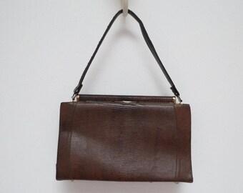 Reptile Handbag or Purse Frame Purse