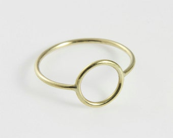 Ring Gold 8 Karat: WIRE round Gold - filigraner Ring aus 8kt Gold
