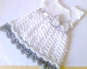 baby dress pattern, baby crochet pattern, dresses pattern, hackelkleidung baby, baby girl dress, baby white dress, baby clothes pattern
