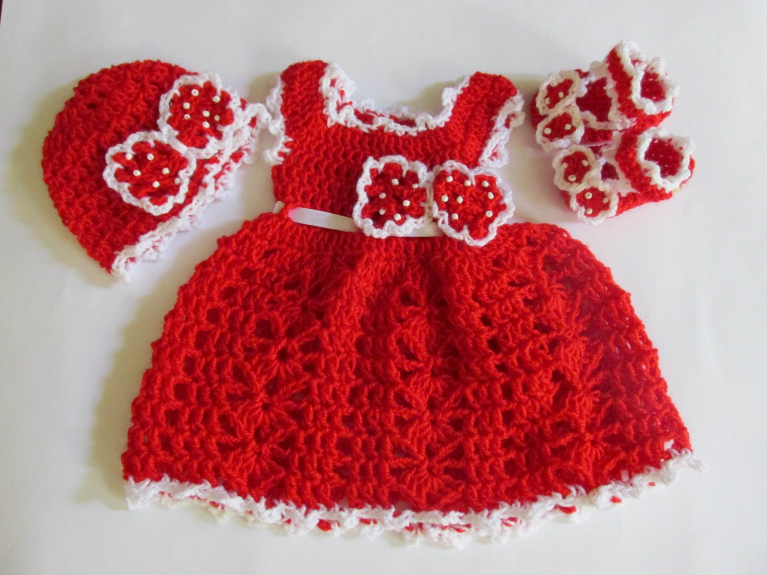kids christmas outfit gift for kidsCrochet dress hat
