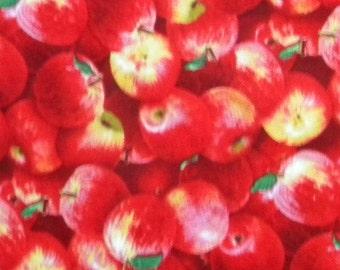 Food Festival--apples- fabric by the yard--Elizabeth's Studio