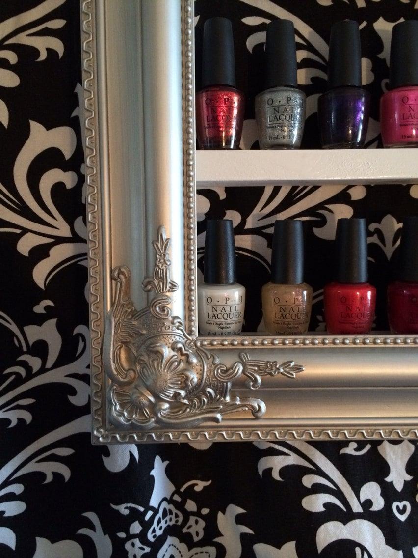 Nail Polish Shelf Decorative Frame