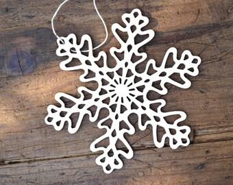 Hanging Snowflake Droplet