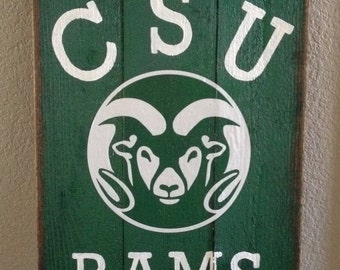 Colorado State University Ram art