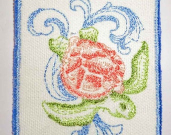 Iron-On Patch - BAROQUE TURTLE