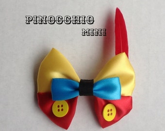 pinocchio mini hair bow
