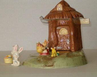 Easter, Spring Celebrations, Spring Start, Easter Decoration, Easter Table Decoration, Easter Bunny House