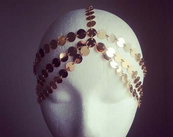 LAST ONE / / / Coin Headpiece Gold