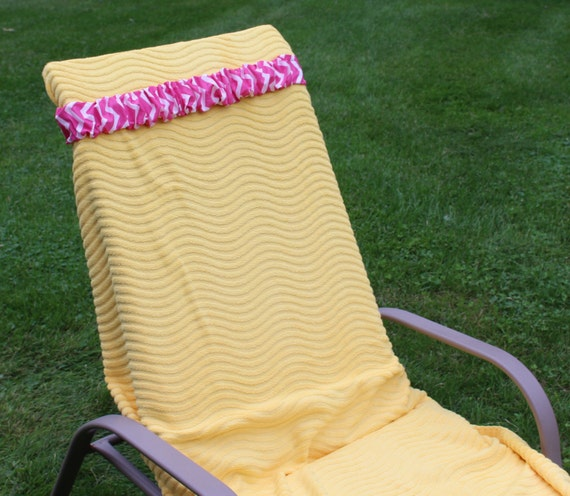 Accessory For Cruise Beach Chair Towel Cinch Hot Pink