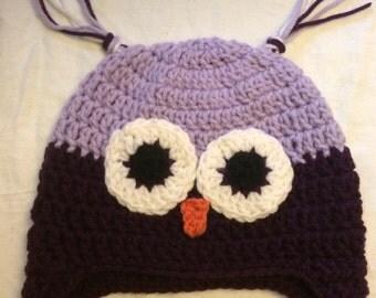 Owl Hat - child size