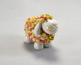 Halloween Candy Corn Sheep
