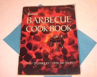 SUNSET BARBECUE COOKBOOK circa1967