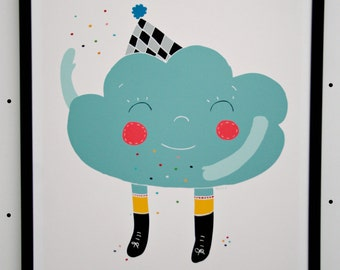 Print- Happy Cloud-