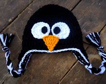 Crochet PENGUIN Hat/Beanie