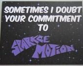 Donnie Darko - Sparkle Motion Postcard