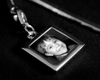 Silver Custom Photo Bookmark