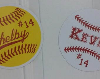 Softball Magnets Etsy - Custom car magnets for sports