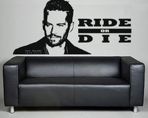 beliebte artikel f r paul walker auf etsy. Black Bedroom Furniture Sets. Home Design Ideas