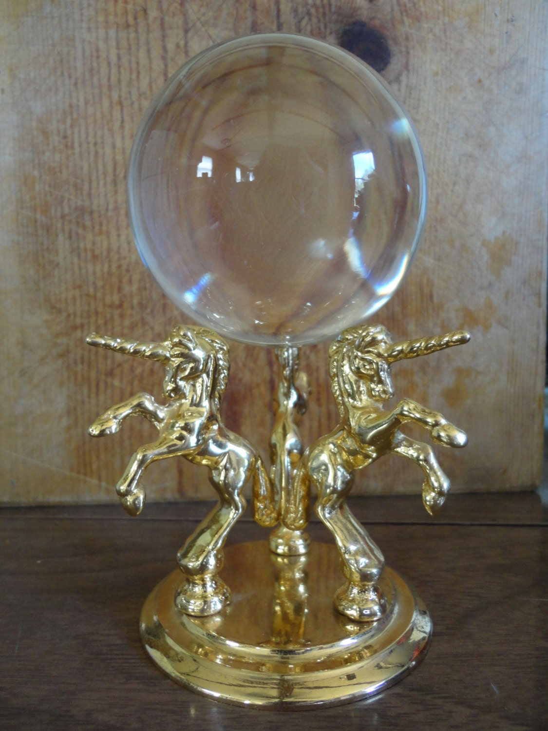 Crystal Ball Fortune Telling Crystal Ball Unicorn Horse Crystal Ball Fortune Teller