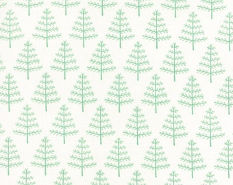 Into the Woods Little Trees in Cloud Garden Fabric by Lella Boutique for Moda Fabrics