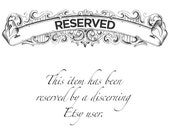 RESERVED for Steven - Sizing Fee (to 12.25)