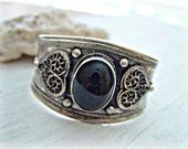 Tibetan Cuff - Tibetan Jewelry - Gypsy Cuff Bracelet - Gypsy Bracelet - Yoga Bracelet - Yoga Jewelry - Nepal Jewelry - Boho Jewelry